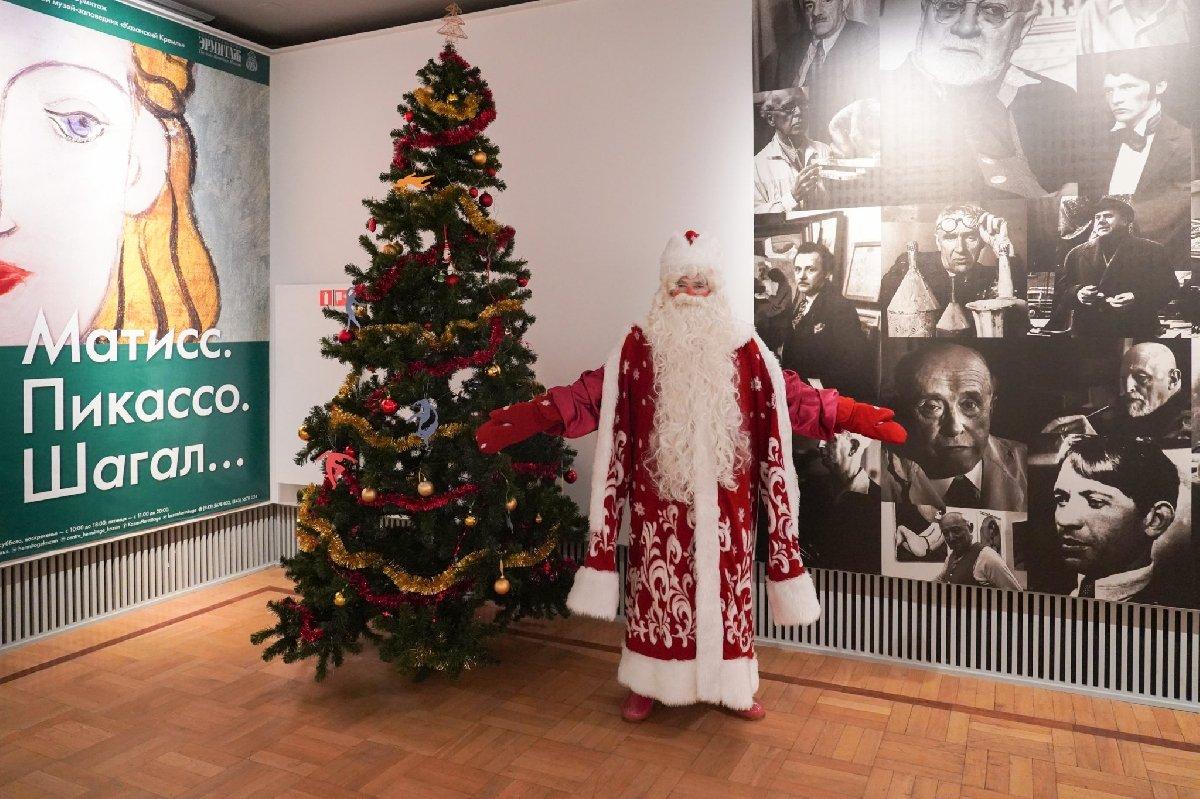 Новогодние каникулы вцентре «Эрмитаж-Казань» 2019/20