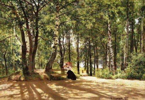 Выставка «Иван Шишкин— живопись, графика»