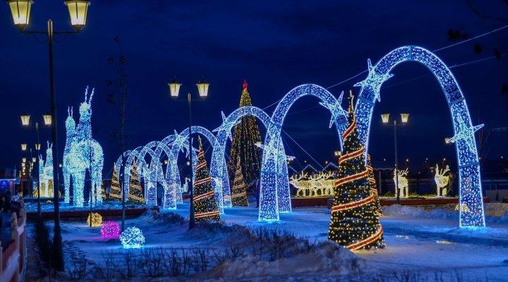 Новогодние мероприятия «Зима впарках» 2017/18