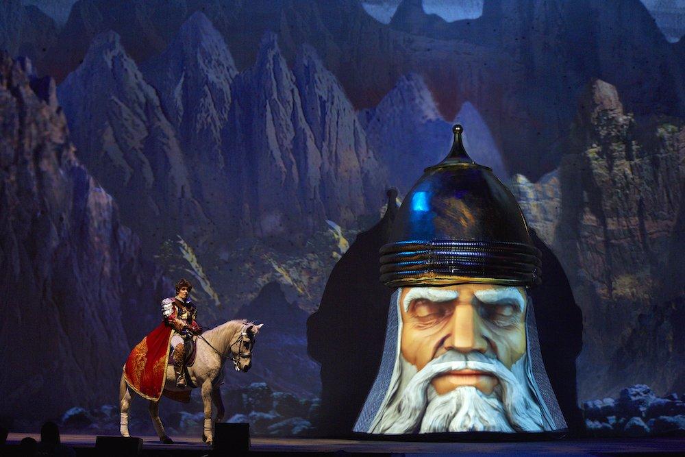 Новогодний мюзикл «Черномор» 2020