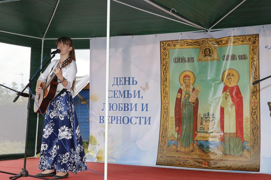 День Семьи, Любви иВерности вКазанском Кремле 2018