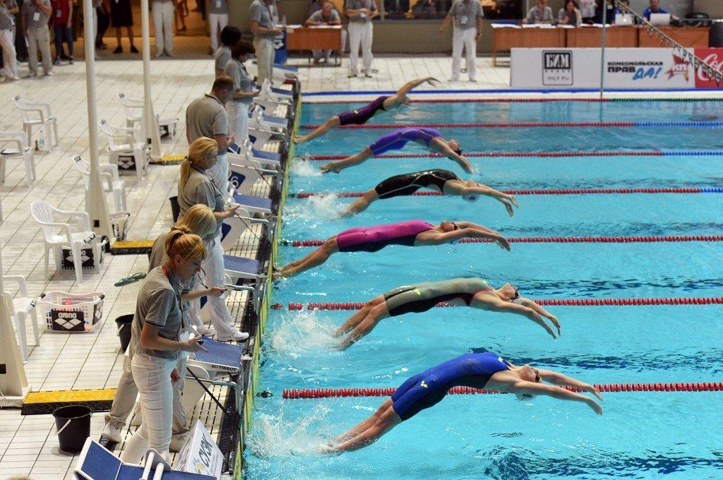 Чемпионат России поплаванию накороткой воде 2018
