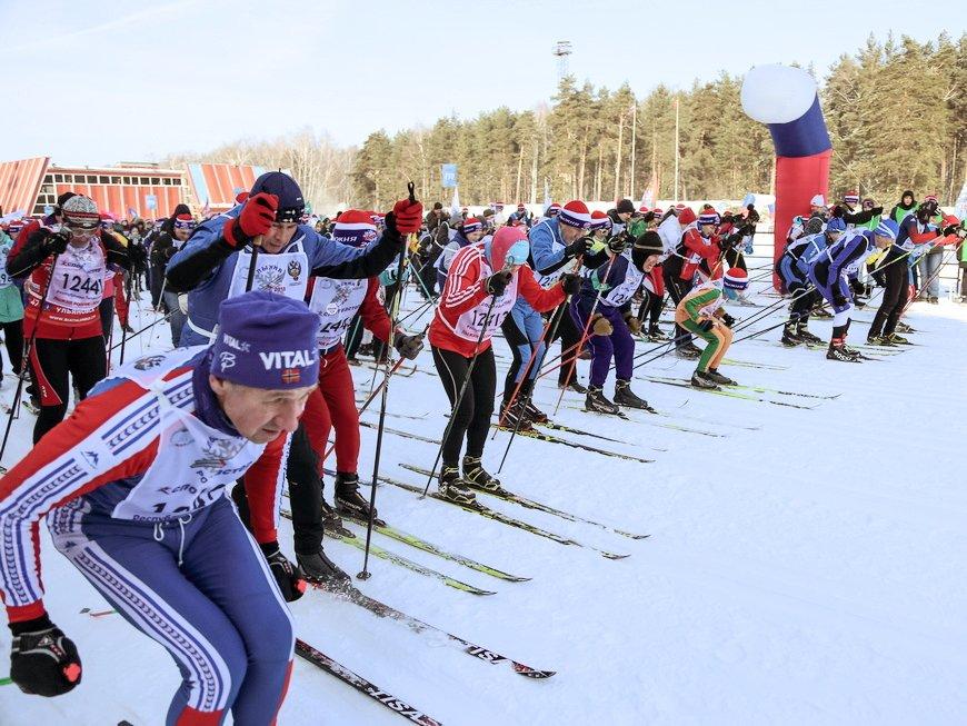 Всероссийская массовая гонка «Лыжня России» 2020