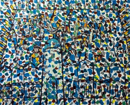 Выставка Мадияра Хазиева «Возвращение кистокам»