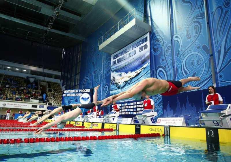 Чемпионат России поплаванию 2017