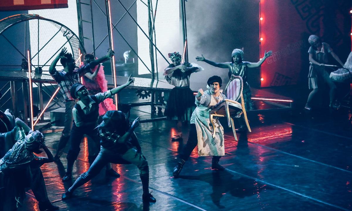 Балет «12 стульев»