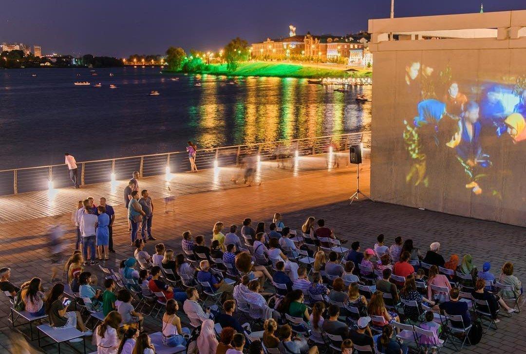 Кинопоказ под открытым небом 2018