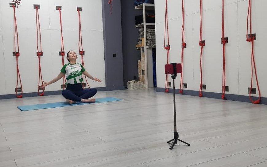 Онлайн-тренировки врамках проекта «Зеленый фитнес» 2020