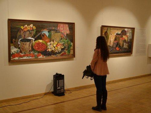 Выставка «Мир художника вдеталях»