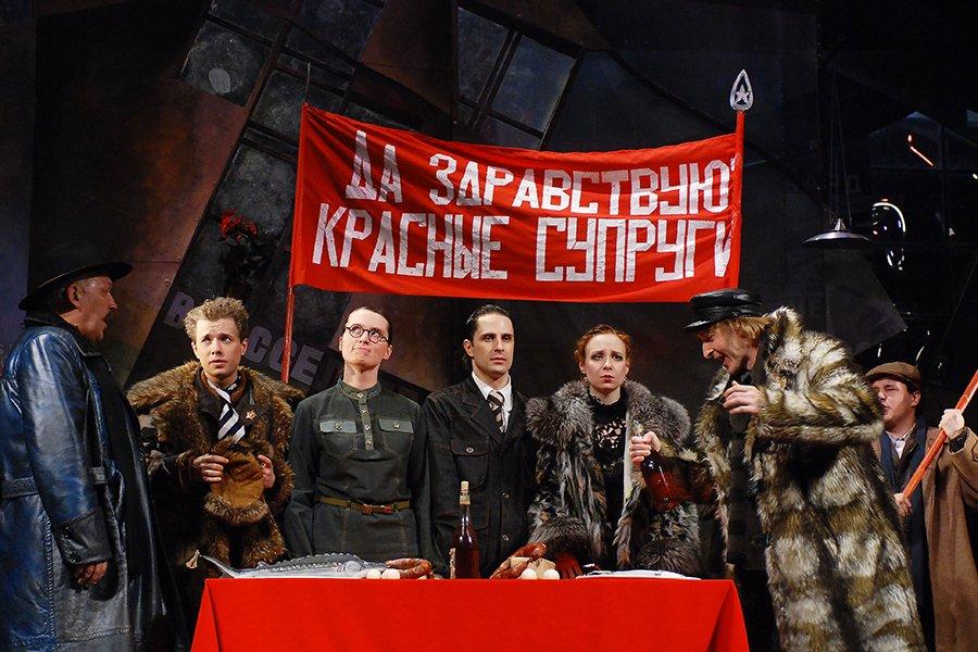 Спектакль «Квадратура круга» 2017
