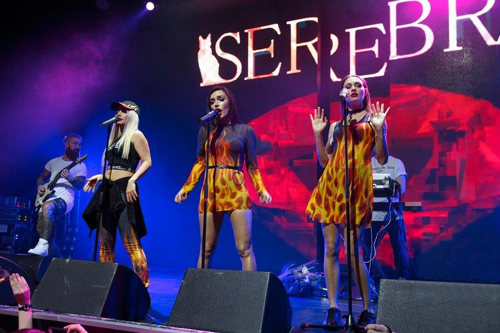 Концерт группы «SEREBRO» 2017