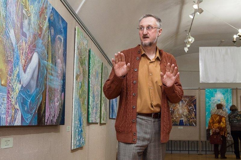 Выставка Валерия иВиталия Скобеевых «Река времён»