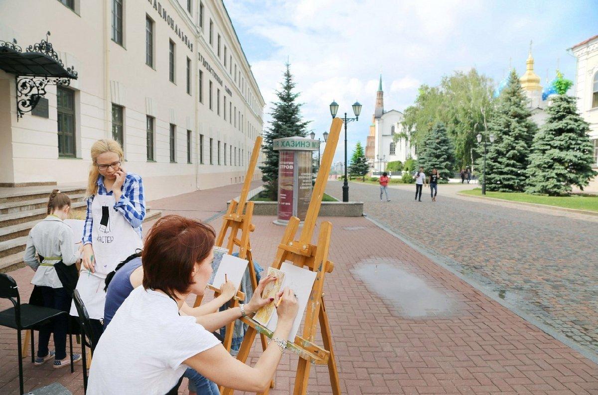 Мастер-класс «Пейзажи Казанского кремля» 2020