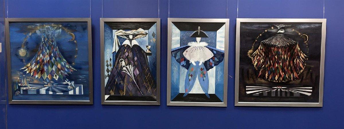 Выставка Наили Кумысниковой «Кожаная мозаика»