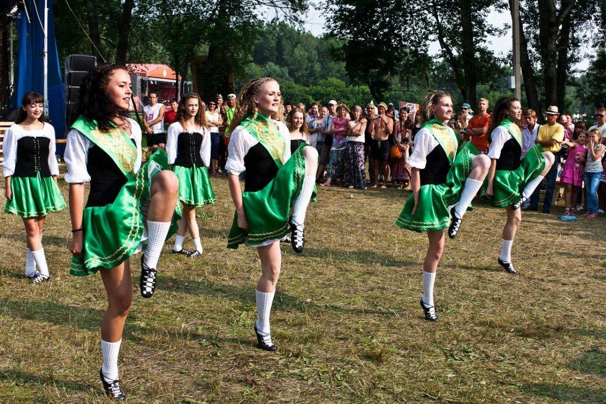 Мастер-класс поирландским танцам 2019