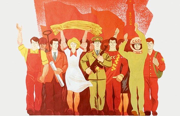 Выставка «История комсомола– история страны»