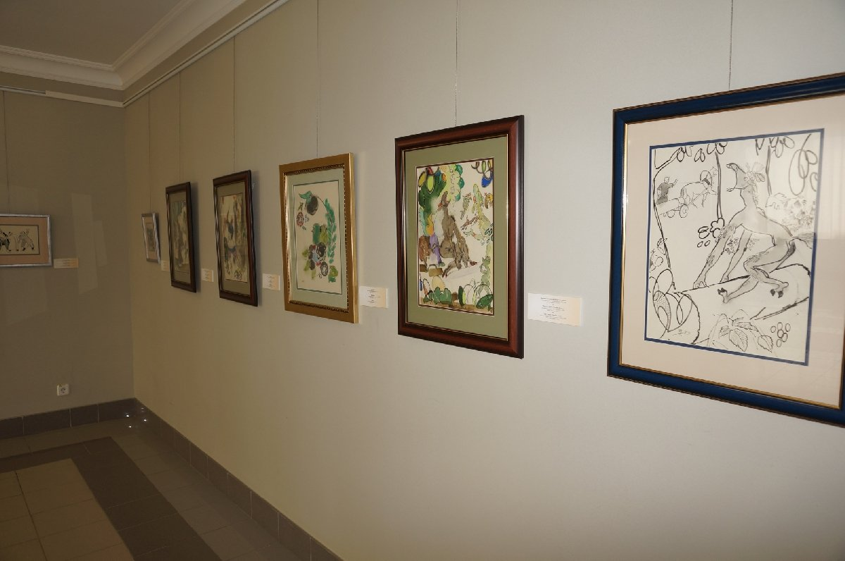 Выставка «Баки Урманче «Я наслаждаюсь только самой работой »