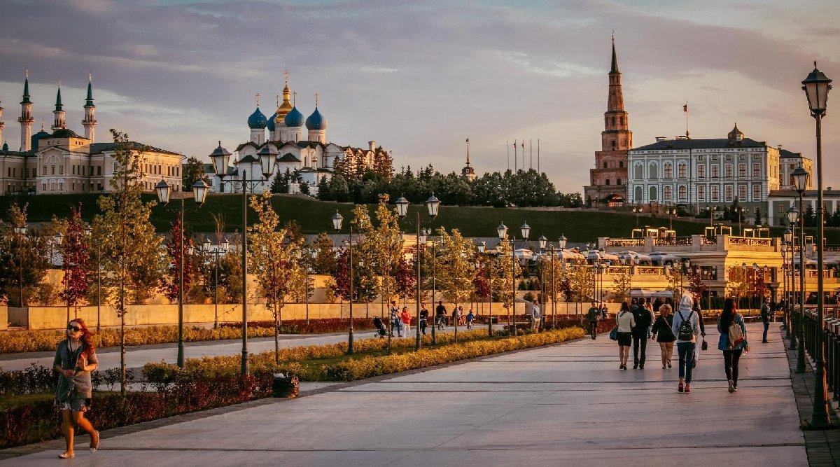 Осенний фотодень наКремлевской набережной 2019