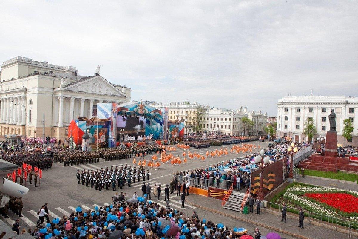 День победы вКазани 2018