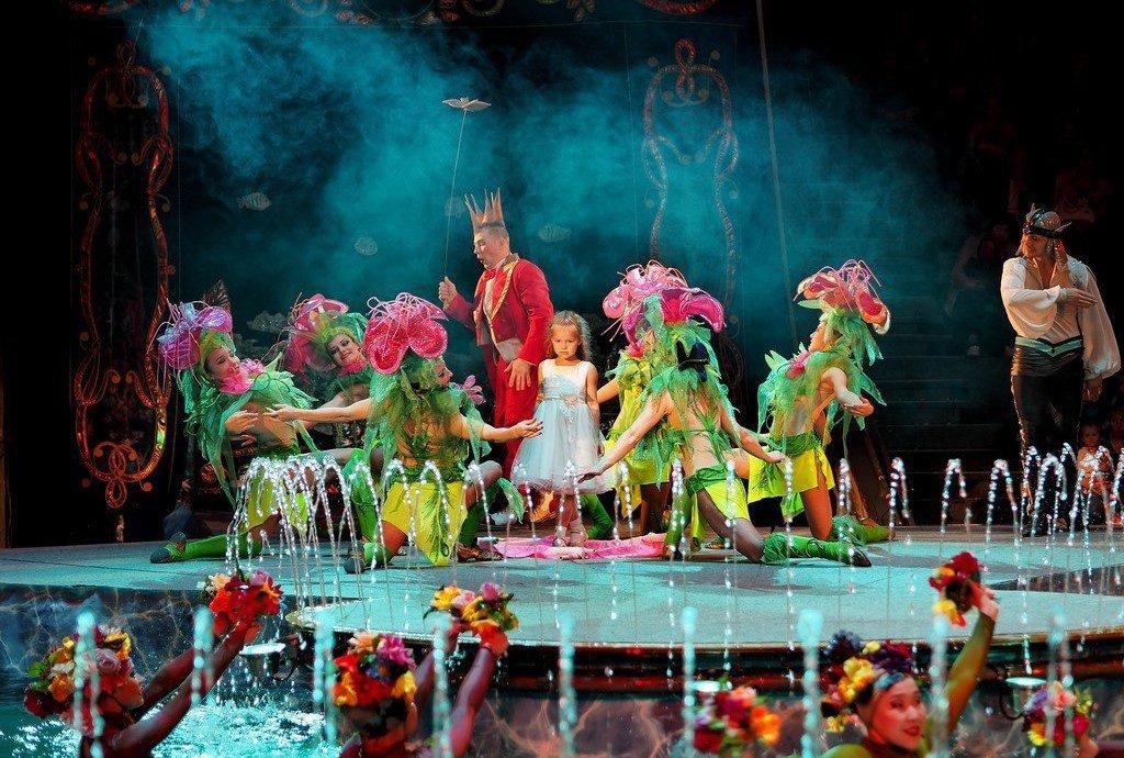 Шоу «Цирк наводе «Остров сокровищ» 2018