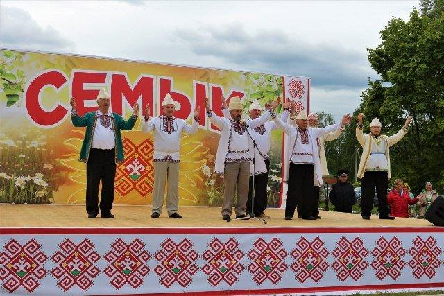 Праздник марийской культуры «Семык» 2020