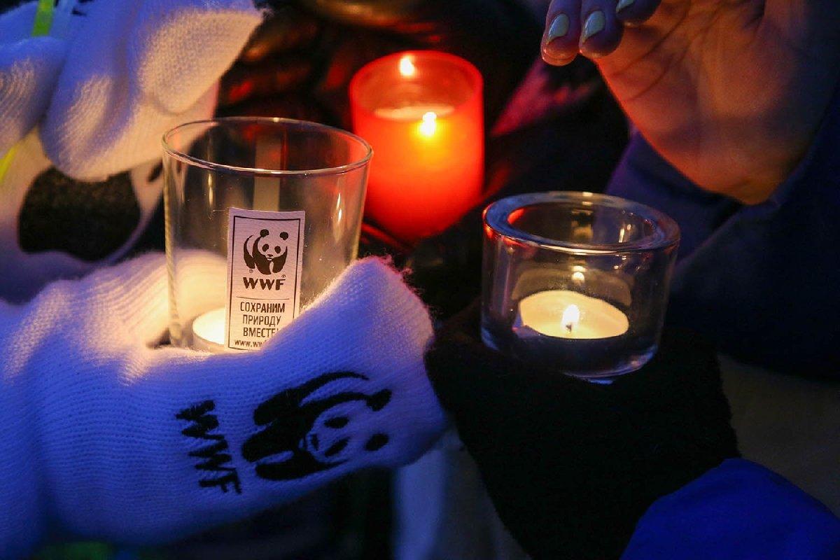 Акция «Час Земли» вКазани 2020