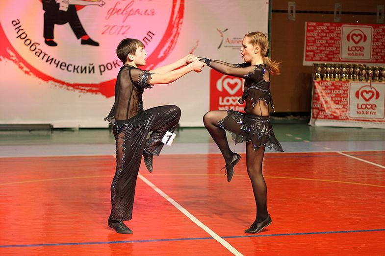 Всероссийские соревнования поакробатическому рок-н-роллу 2017