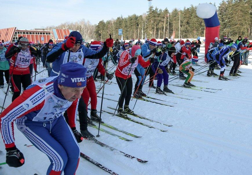 Лыжная гонка «Лыжня России» 2019