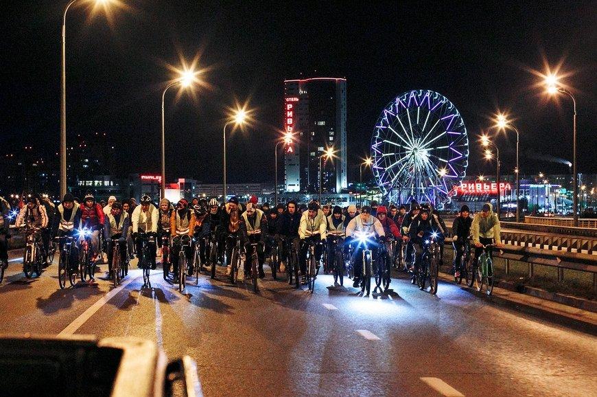 Ночной велофест вКазани 2019