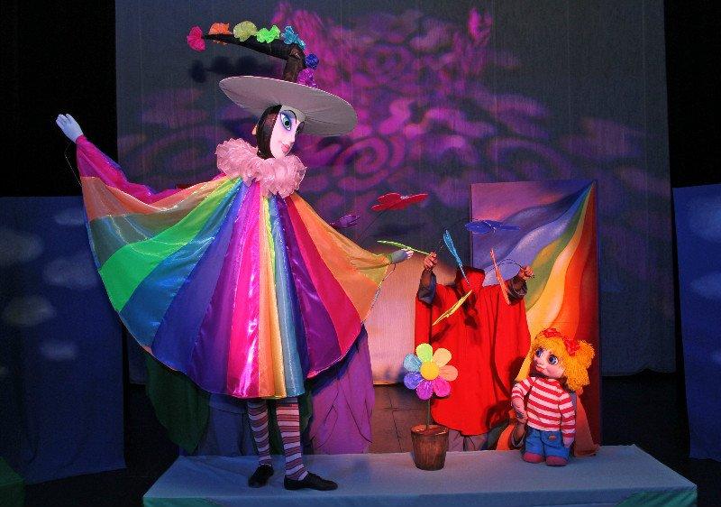 Кукольный спектакль «Цветик-семицветик»