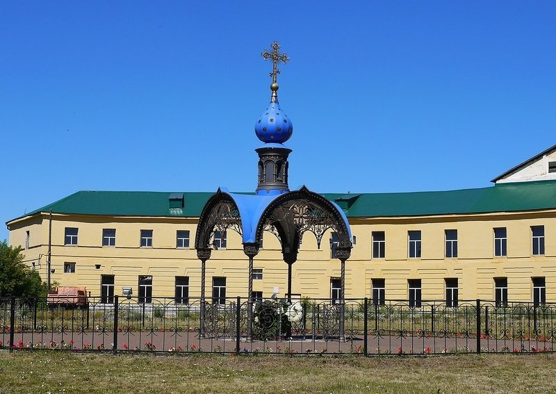 Часовня наместе обретения Казанской иконы Божьей Матери