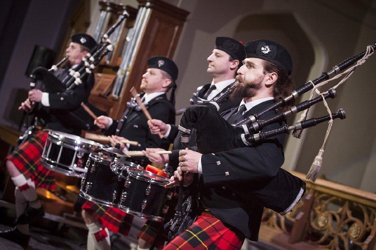 Концерт «Легенды Ирландии иШотландии. Волынки иорган» 2019