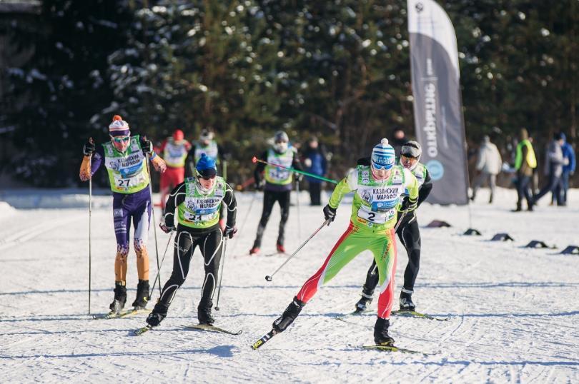Казанский лыжный марафон 2018