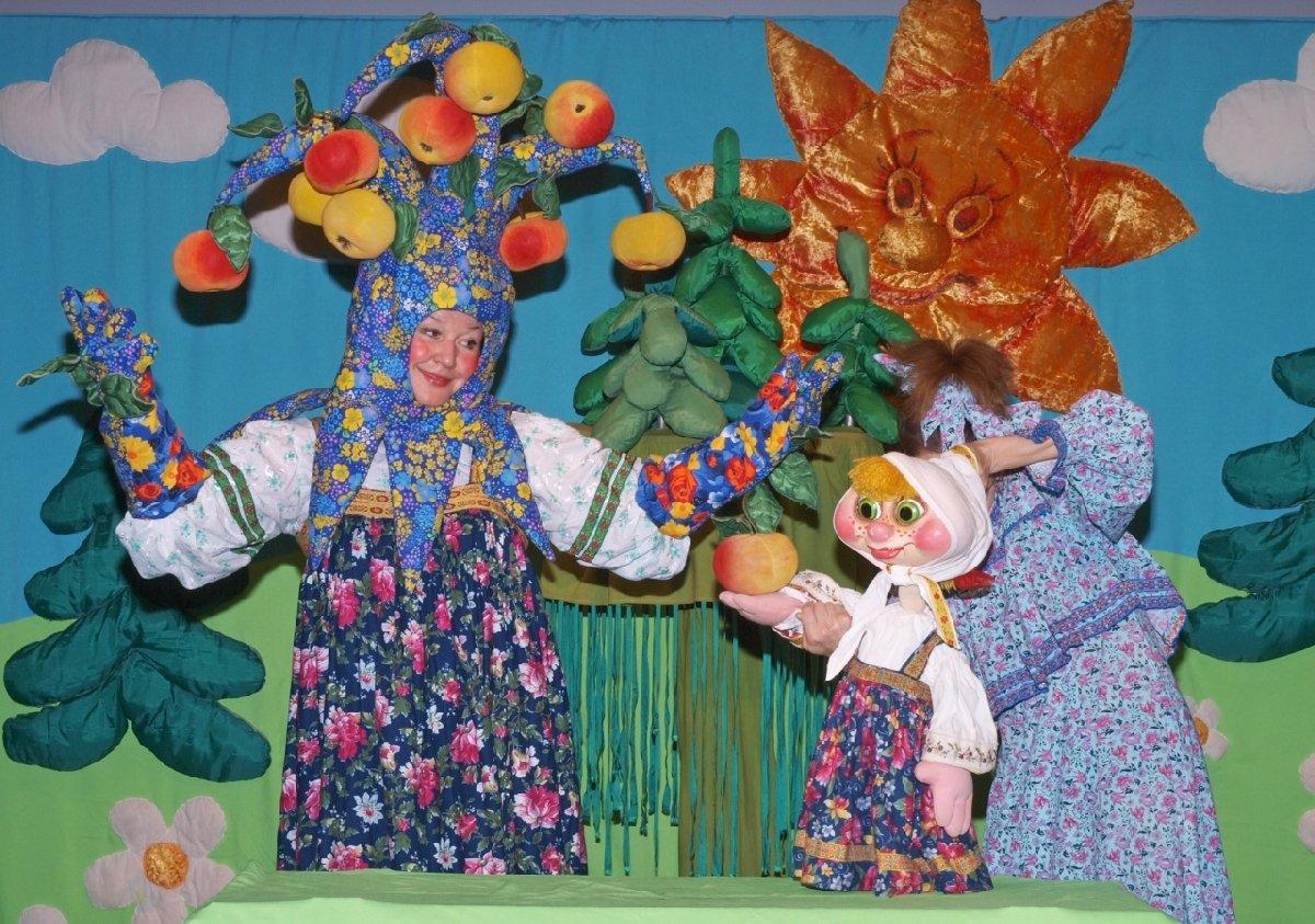 Кукольный спектакль «Гуси-лебеди»