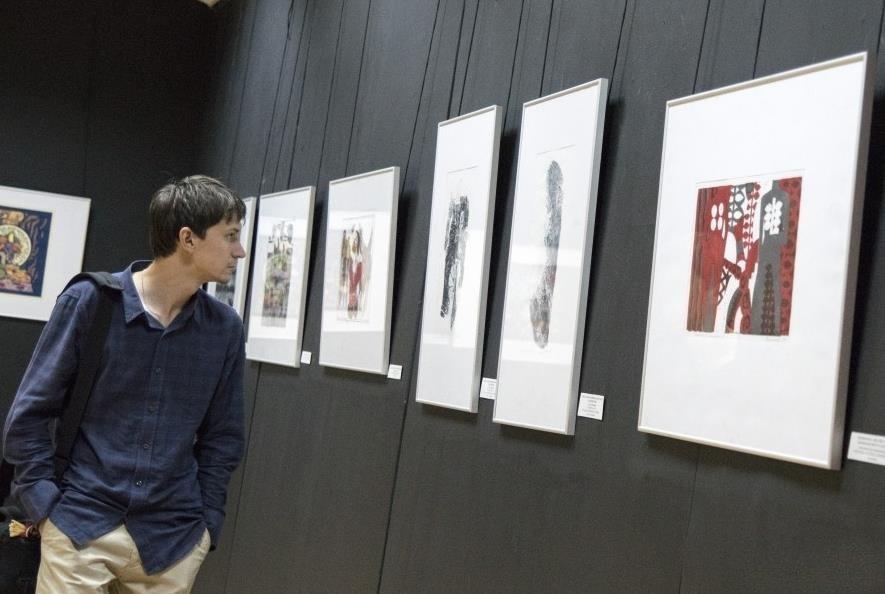 Казанская международная биеннале печатной графики «Всадник» 2017