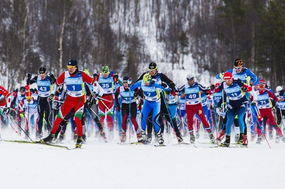 Лыжный марафон «Гонка вюбках» 2020