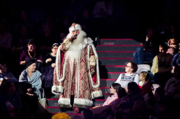 Цирковое шоу «Звери, цирк иДед Мороз» 2020/21