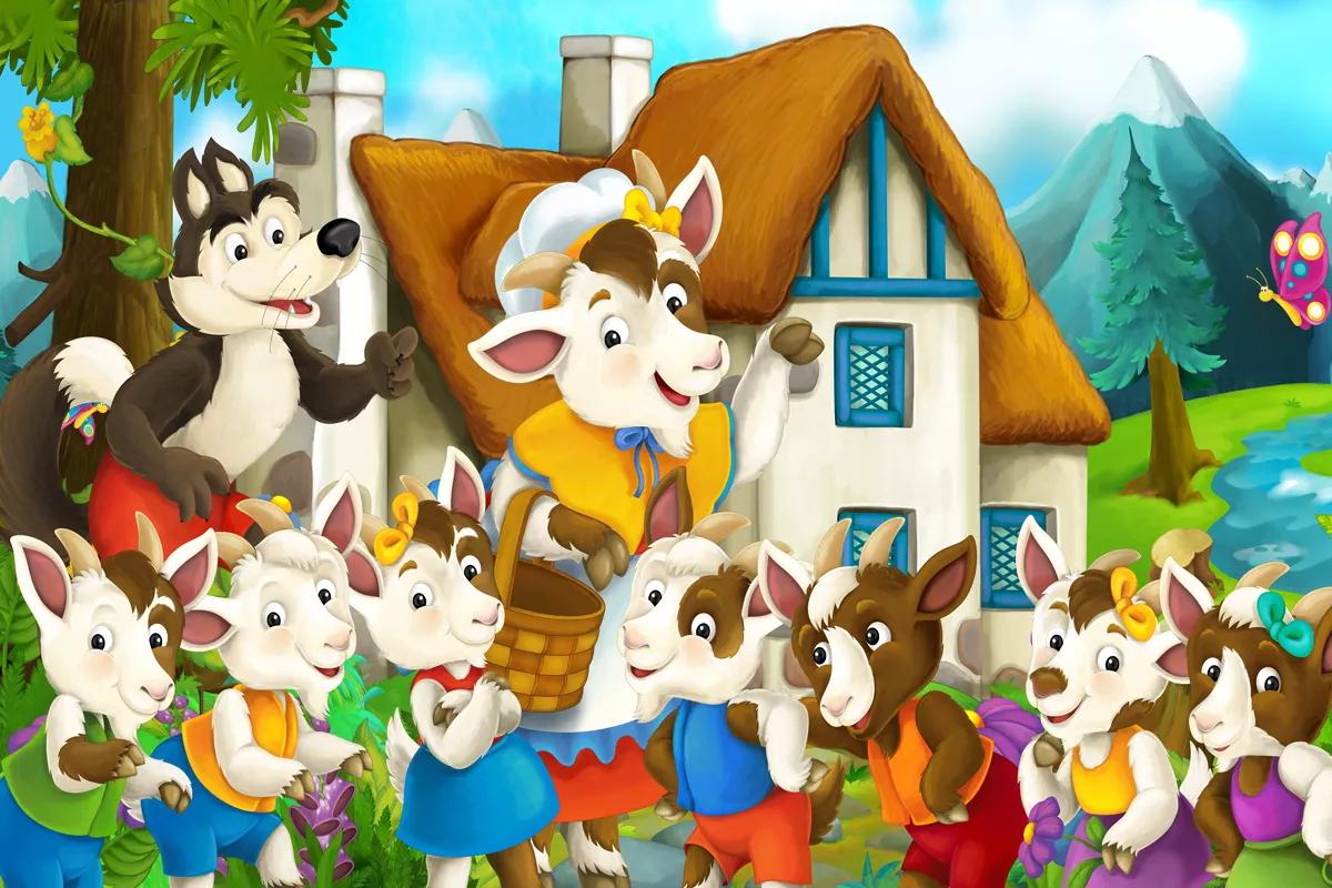 Кукольный спектакль «Волк исемеро козлят»