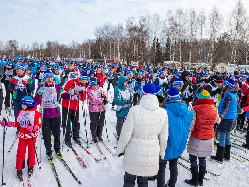 Новогодние каникулы впарках искверах Казани 2019/20