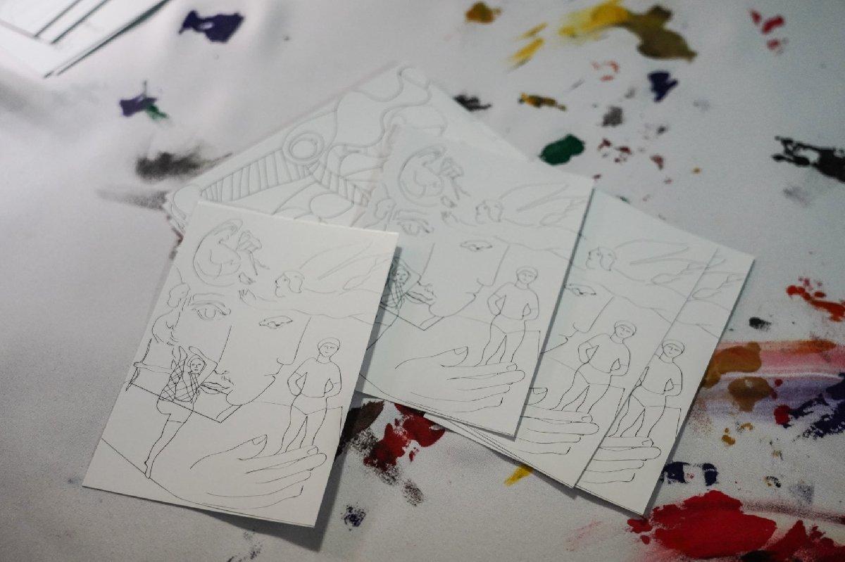 Выставка «Зимние медиа-фантазии помотивам Матисса иШагала»