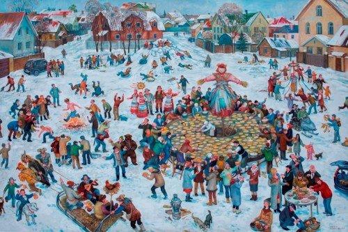 Выставка живописи Марины Самакаевой