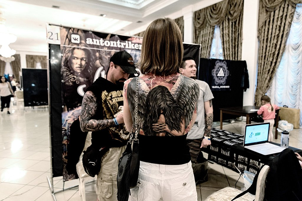 Фестиваль Kazan Tattoo Revolution 2019
