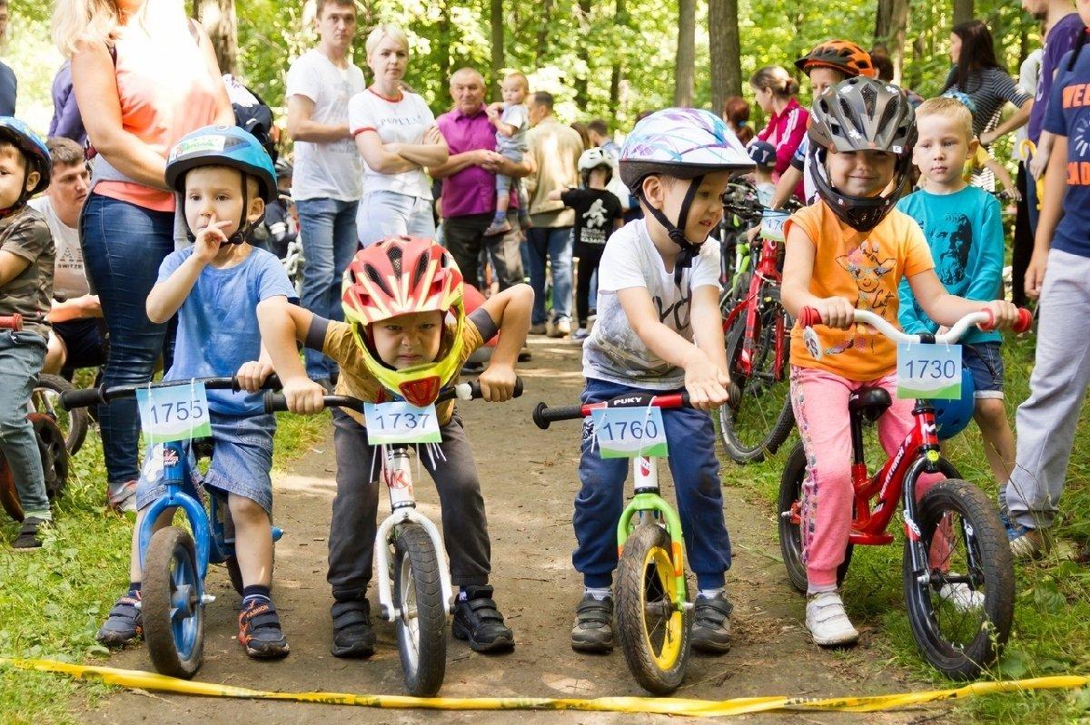 Детская велосипедная гонка «Обгоняй-ка!» 2018