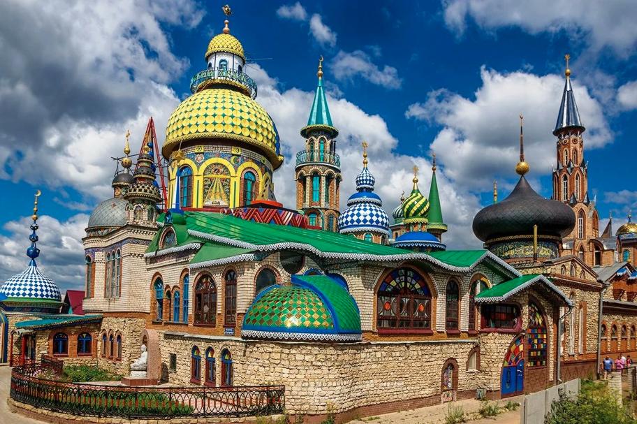 Экскурсия наостров-град Свияжск, Раифу иХрам Всех Религий