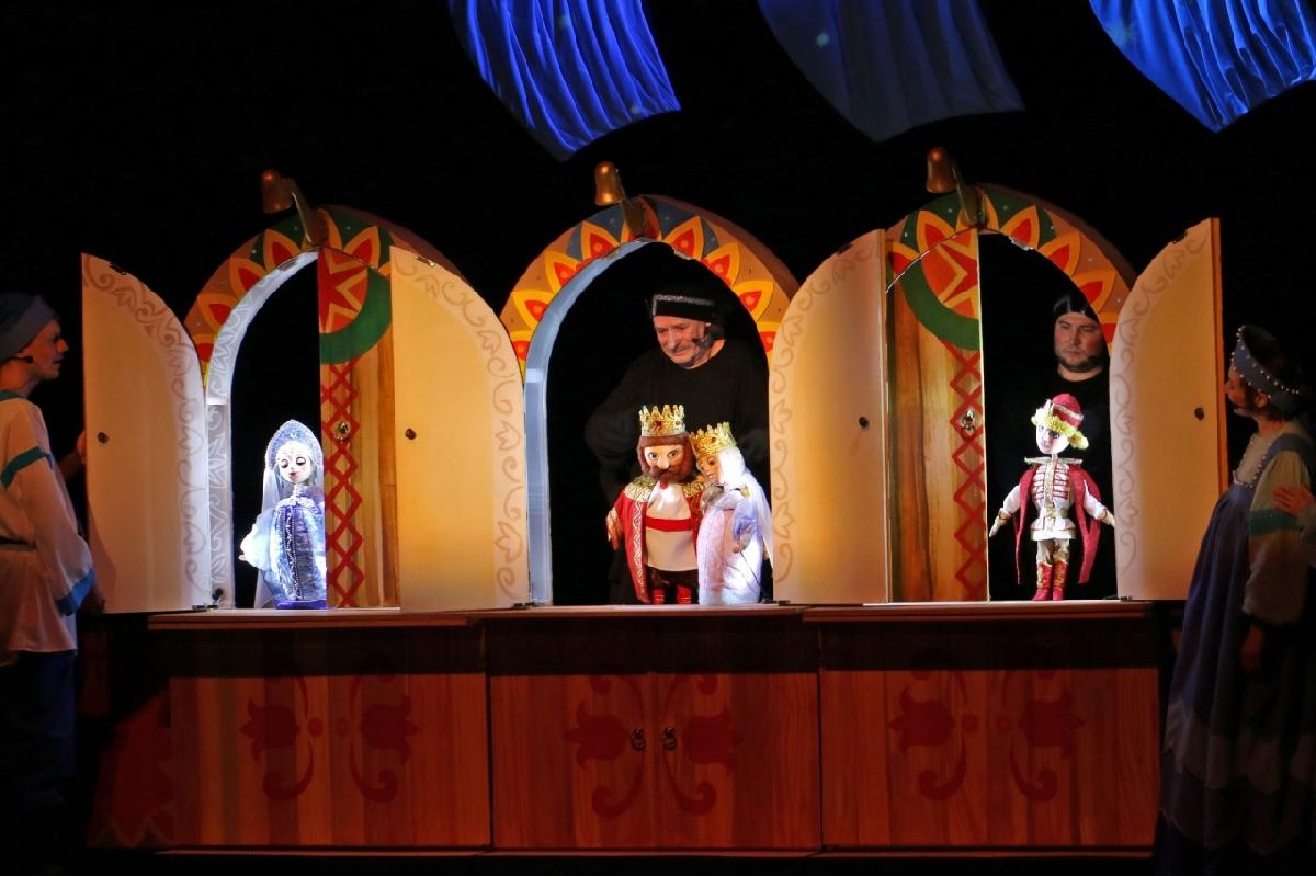 Кукольный спектакль «Сказка оцаре Салтане»