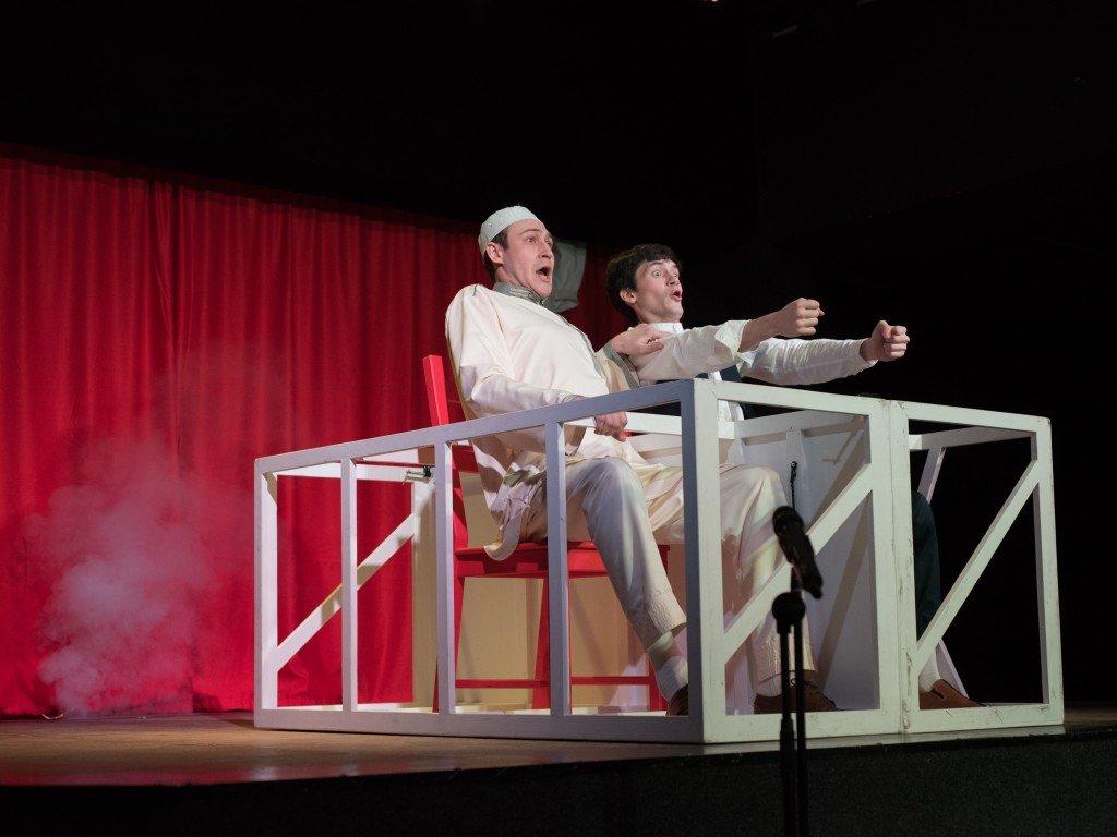 Спектакль «Мсье Ибрагим» 2017