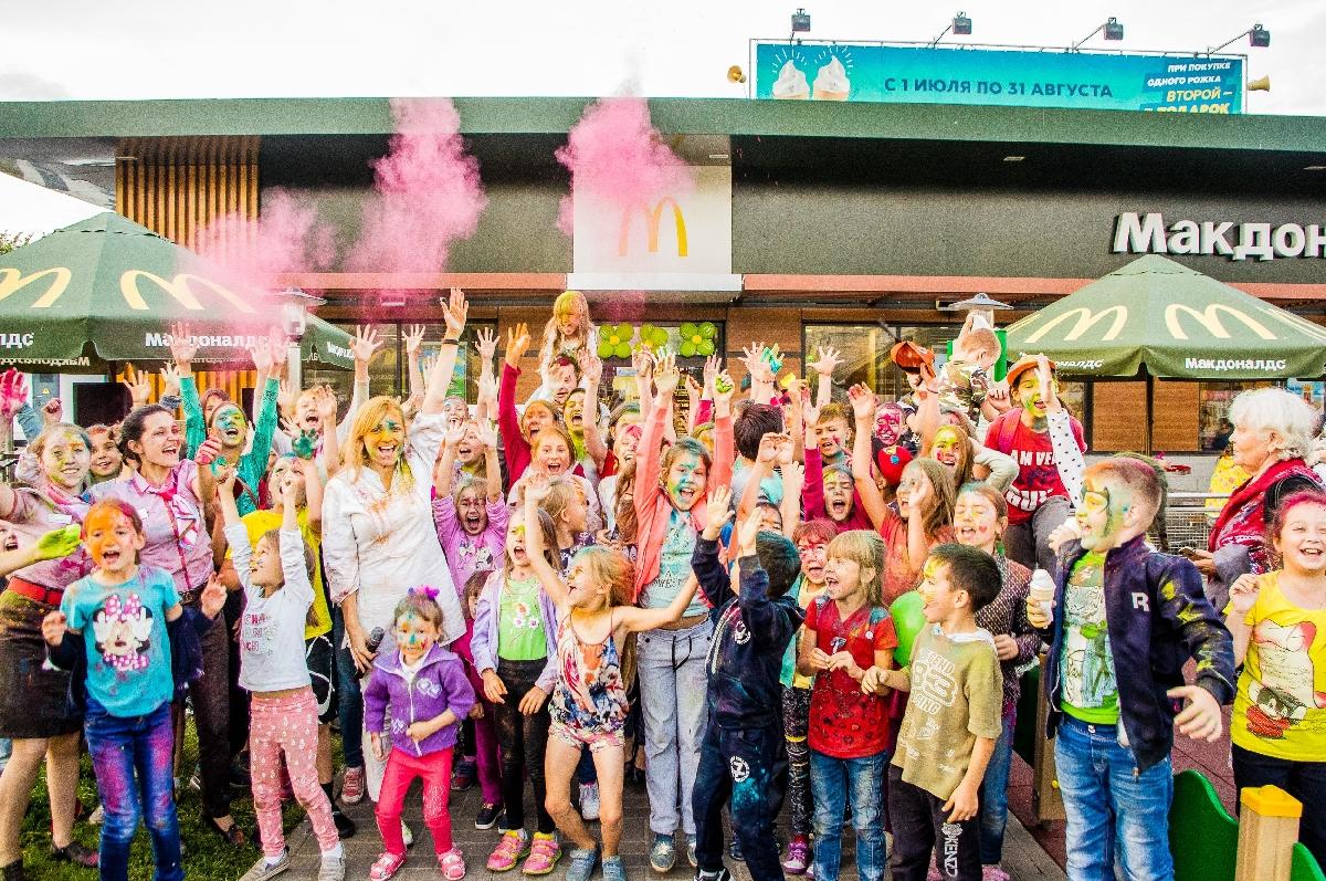 Открытие «Макдоналдс» наКремлевской набережной 2021