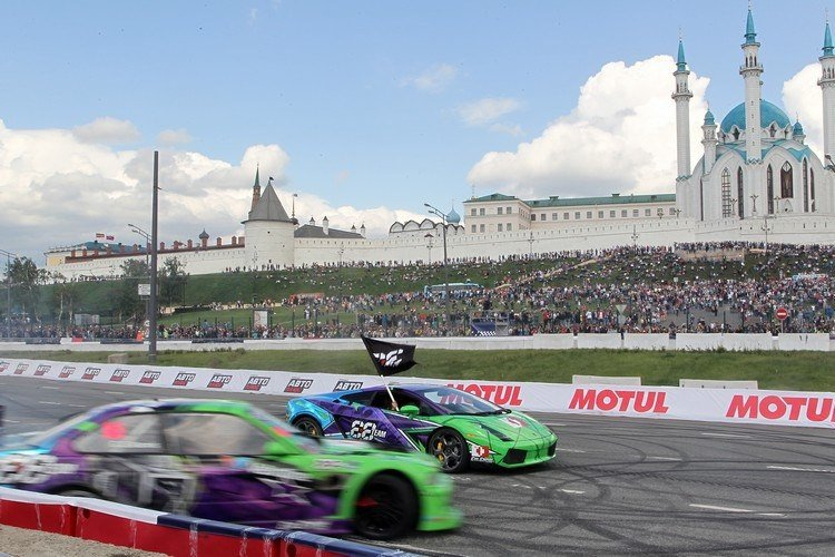 Шоу «Kazan City Racing» 2017