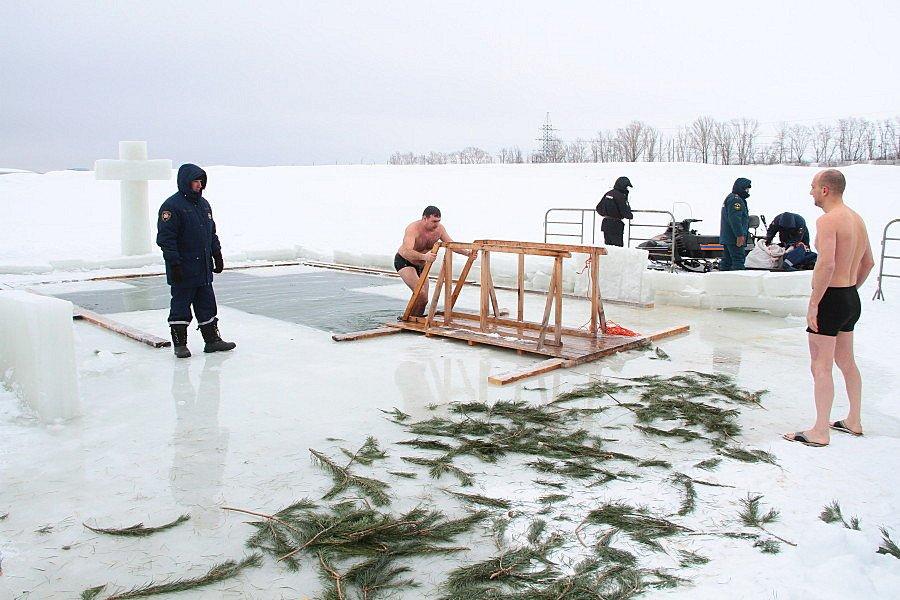 Крещенские купания вКазани 2018
