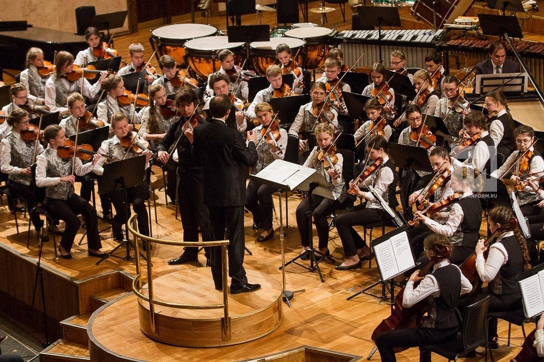 Концерт Молодежного симфонического оркестра РТ2018
